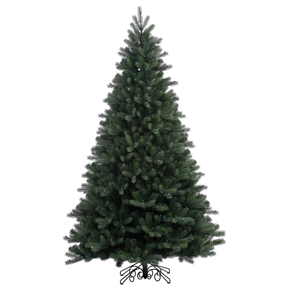 75Ft. x 54in. Noble Spruce Instant Shape tree 1360 PE/PVC tips