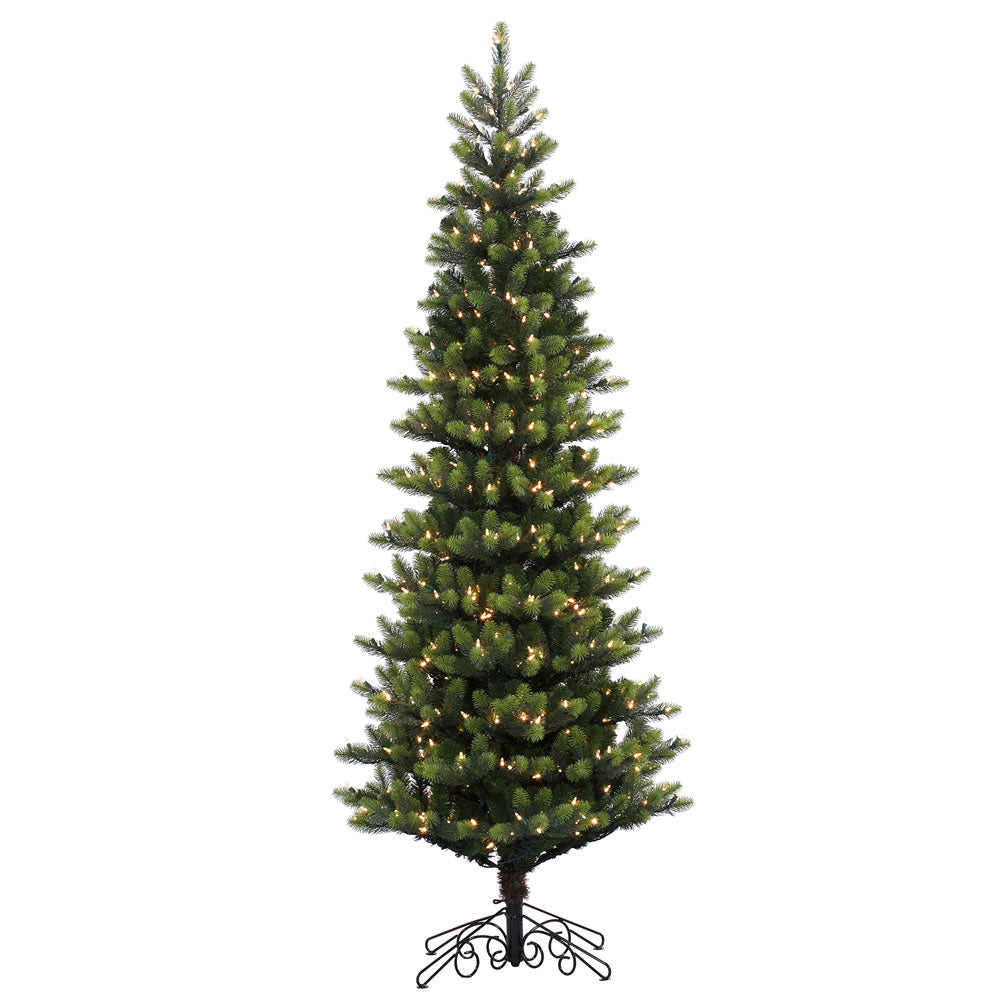 10Ft. Royal Instant Shape Tree 1200LED Warm White Lights 2400 PE/PVC Tips