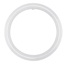 Satco S16503 16w t9 LED Circline 120-277v G10q 3000k Warm White tube