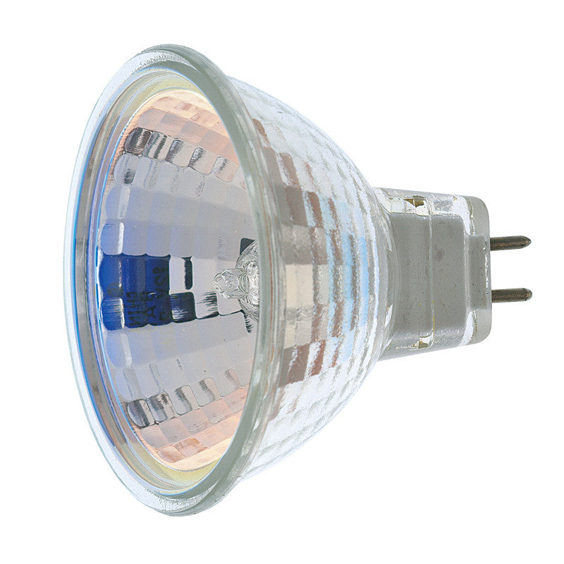 Satco S1962 EXZ 50W 12V MR16 Narrow Flood halogen light bulb
