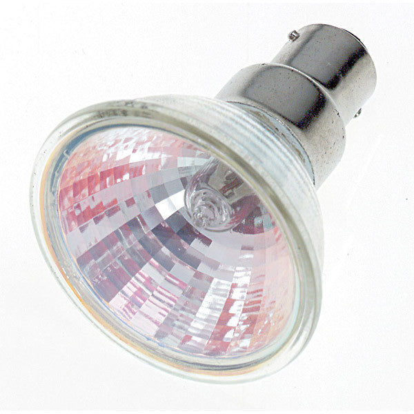 Satco S1973 50W 12V MR16 BA15d Narrow Spot halogen light bulb