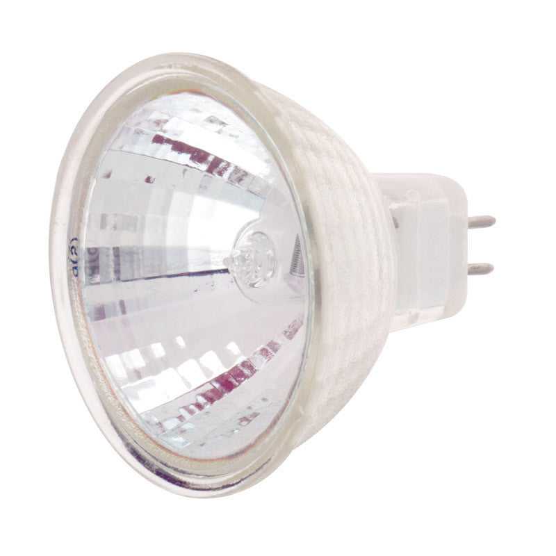 Satco S1996 FRB 35W 24V MR16 Narrow Spot halogen light bulb