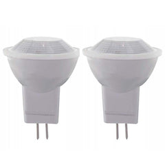 2Pk - Satco 2w 12v MR11 LED Bi Pin GU4 100 Lumens 3000k Warm White