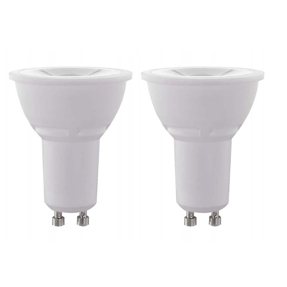 2Pk - Satco 6.5w 120v MR16 LED GU10 500 Lumens 3000k Warm White