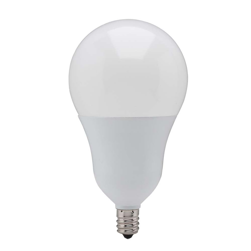 Satco S21801 6w A19 LED Candelabra 3000K Warm White Dimmable Replacement Bulb
