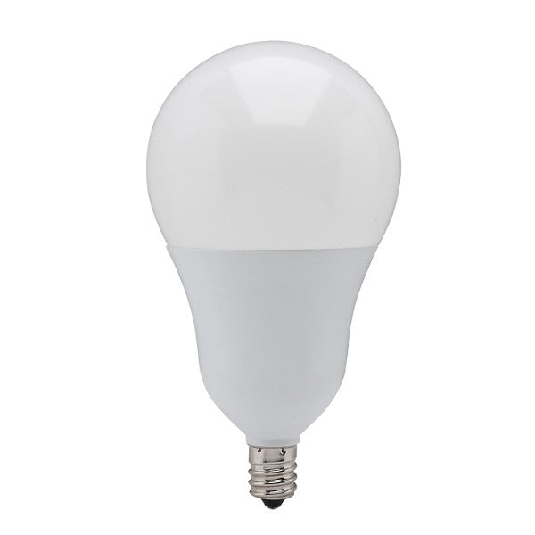 Satco S21806 9.8w A19 LED Candelabra 3000K Cool White Dimmable Replacement Bulb