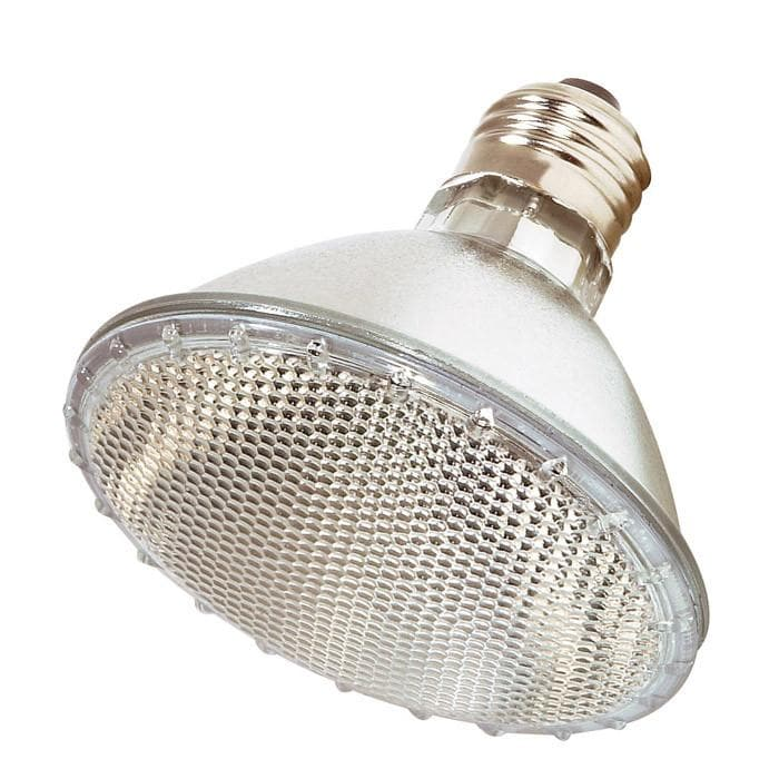 Satco S2207 50W 120V PAR30 Narrow Flood halogen light bulb