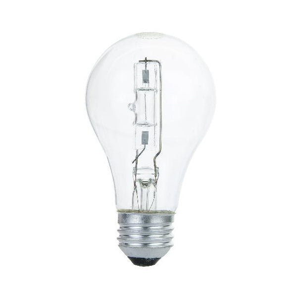 Sunlite 53 Watt Halogen Clear A19 Medium base Light Bulb