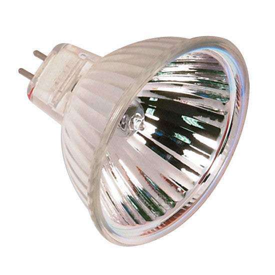 Satco S2625 FNV 50W 12V MR16 Wide Flood halogen light bulb