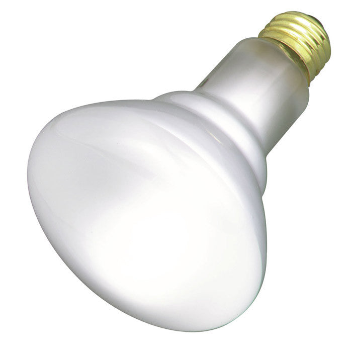 Satco S2808 65W 120V BR30 Frosted E26 Base Incandescent light bulb
