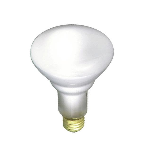 Satco S2809 85W 120V BR30 Frosted E26 Base Incandescent light bulb