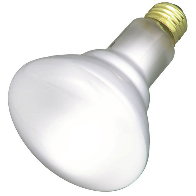 Satco S2817 65W 120V BR30 Frosted E26 Base Incandescent lamp - 2 Bulbs