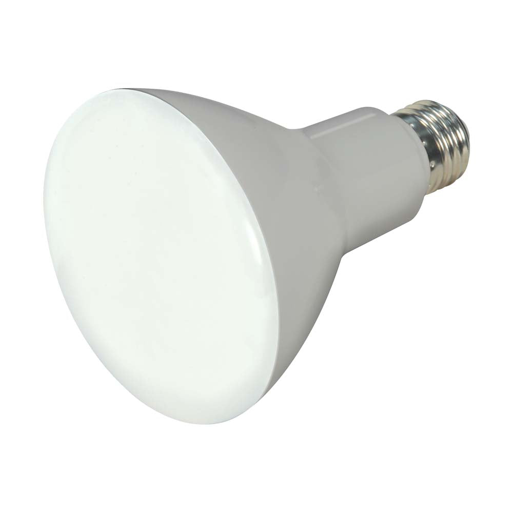 Satco 7.5w 120v BR30 LED 650Lm 4000k Cool White E26 Base Dimmable Bulb