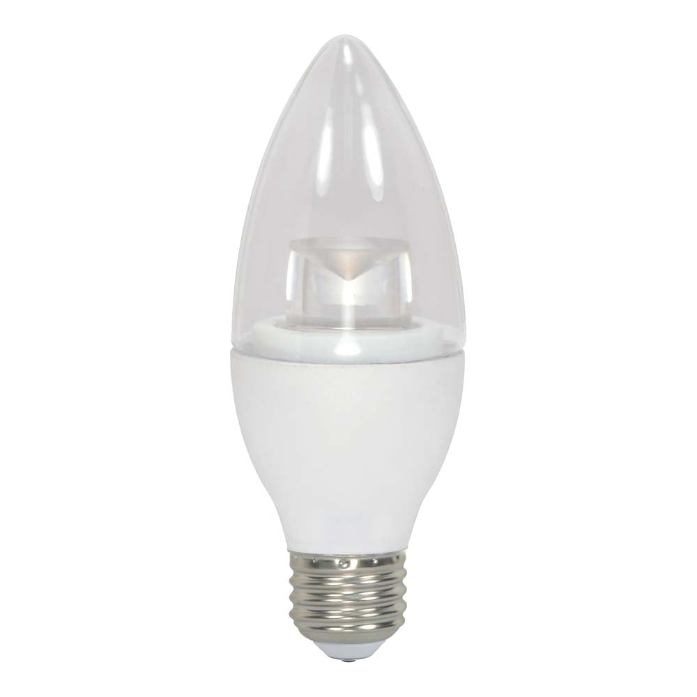 Satco 3.5w 120v B11 LED Clear E26 Medium Base 300 Lumens 2700k