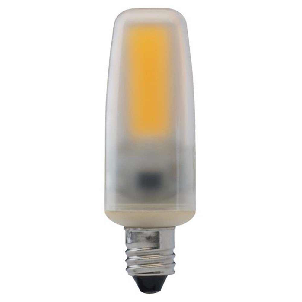 Satco 4watt LED E11 Mini Candelabra base 5000K Dimmable Frosted 120-130v Light Bulb