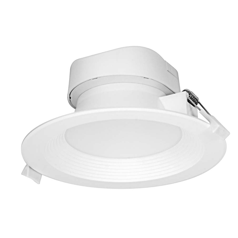 Satco 9w LED Direct Wire Downlight 5-6 inch 4000K 120 volt Dimmable