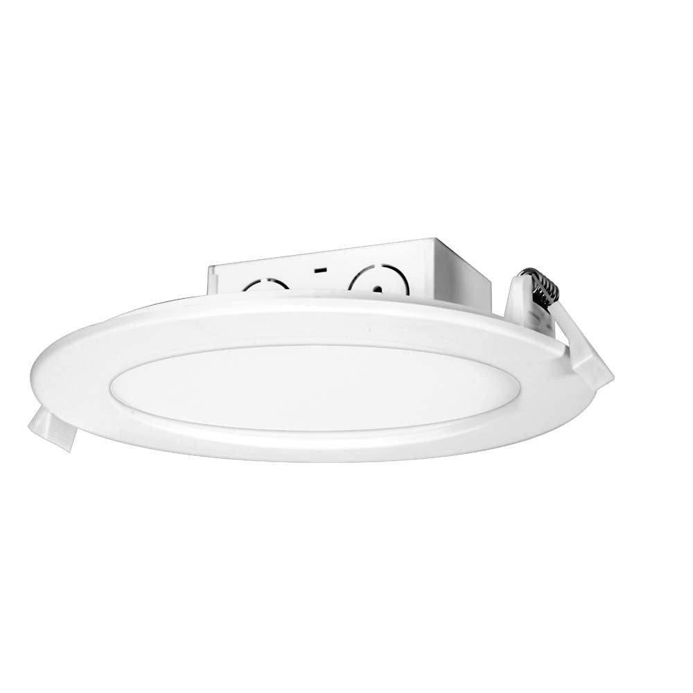 Satco 11.6w LED Direct Wire Downlight Edge-lit 5-6 inch 4000K 120 volt Dimmable