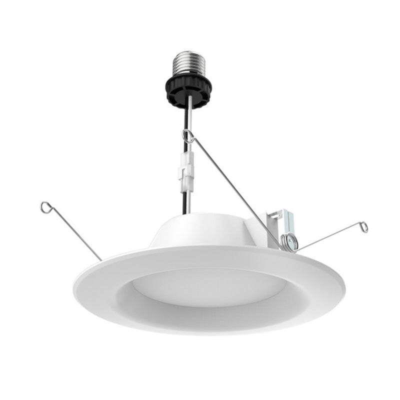 Satco 5-6 inch Recessed LED 9.8W 4000K Retrofit Downlight Kit - 65w Equiv.