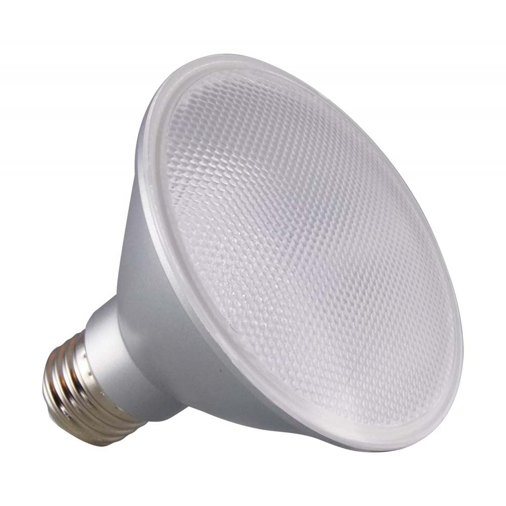 Satco 12.5w PAR30SN LED 25 deg. Beam E26 Medium base 3500k Neutral White
