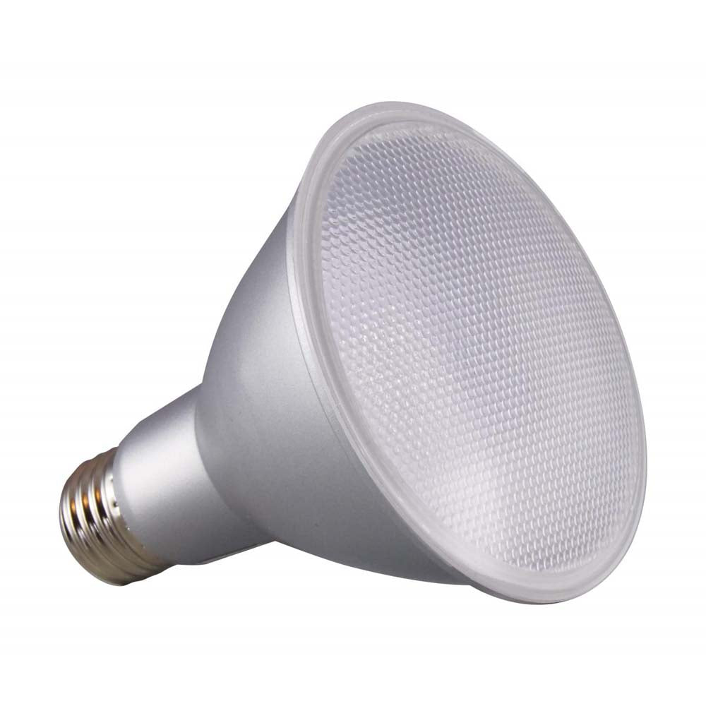 Satco 12.5w PAR30LN LED 60 deg. Beam E26 Medium base 3000k Warm White