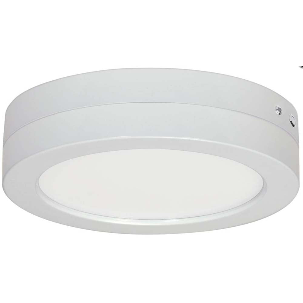 Satco S29657 Battery Backup Housing Only - Flush Mount LED Fixture white Finish
