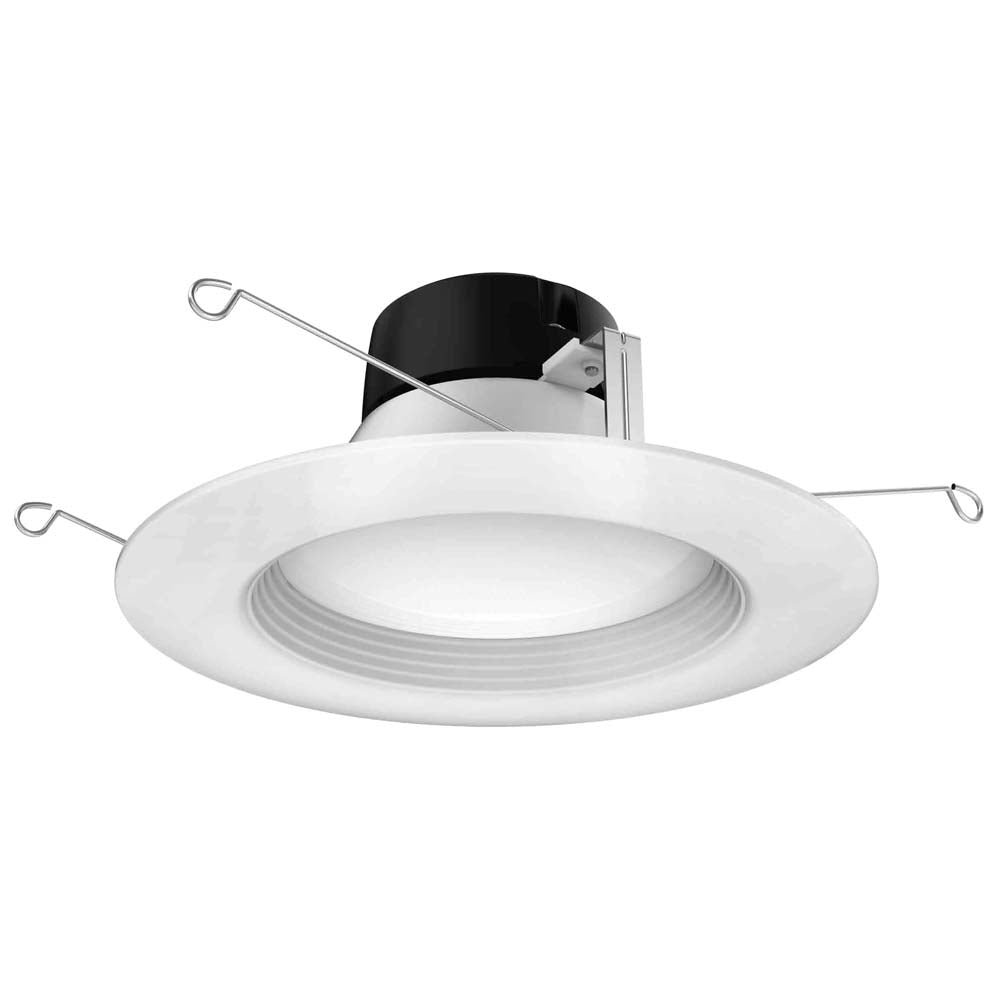 Satco 5in.-6in. 10.5w LED Downlight Retrofit 3000K 120 volts Dimmable