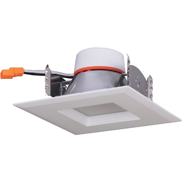 9W 4in. Square Trim Recessed LED 120V 5000K Natural Light Downlight Retrofit