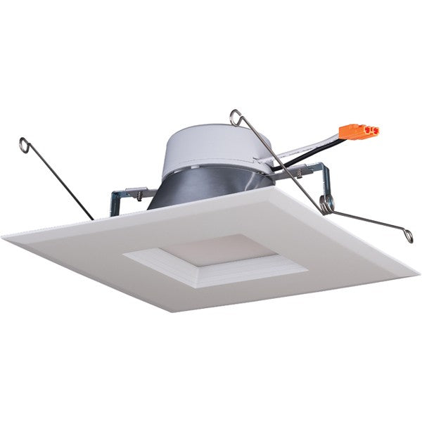 15W 5-6in. Square Trim Recessed LED 120V 5000K Natural Light Downlight Retrofit