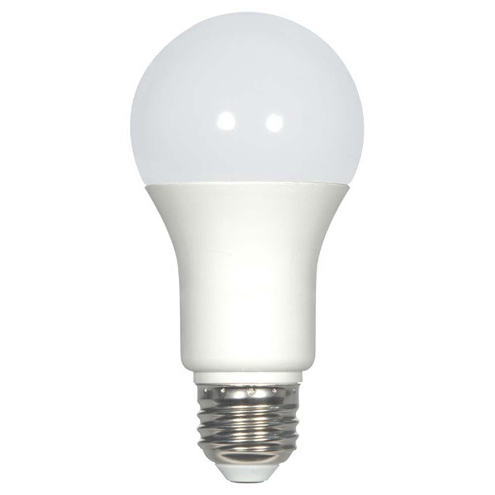 Satco 9.8W A19 LED 5000K Natural Light Dimmable Bulb - 60W Equiv.