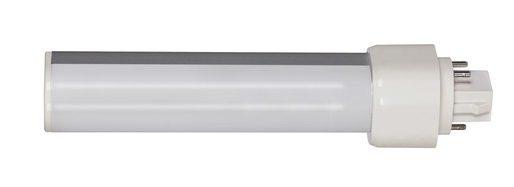 9W LED PL 4-Pin 950 Lumens G24q base 120' beam spread 3500K Neutral White