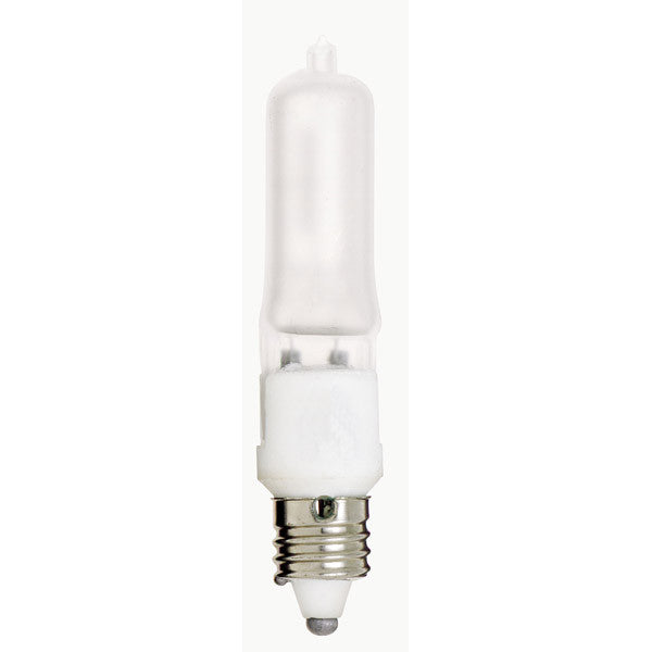 Satco S3182 500W 120V E11 base Frost halogen light bulb