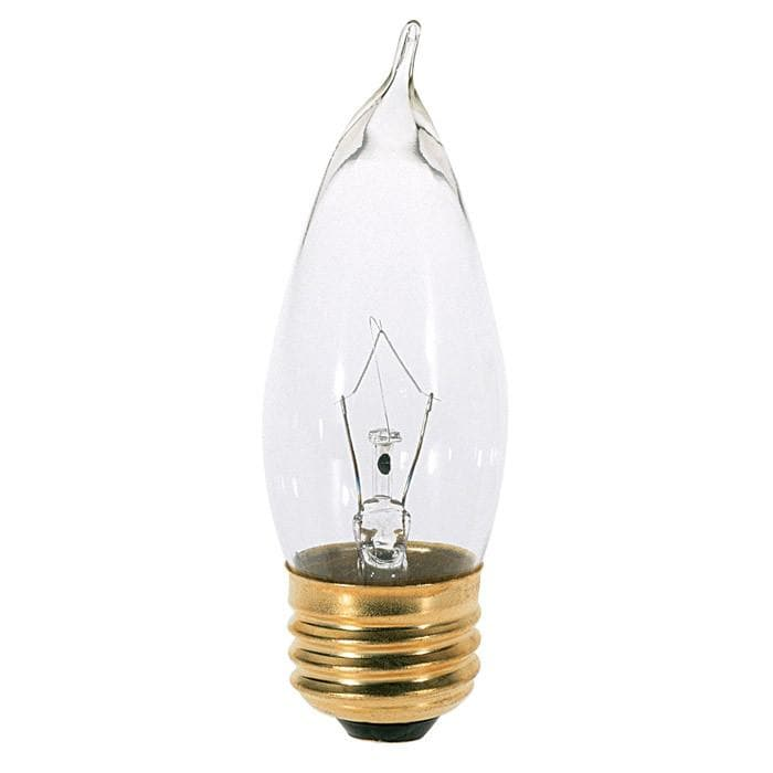 Satco S3266 60W 120V CA10 Clear E26 Base Incandescent light bulb
