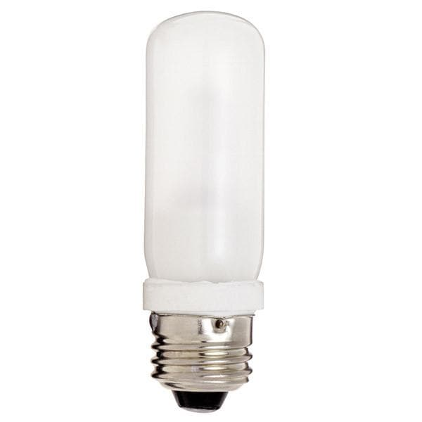Satco S3476 75W 120V T10 Frost halogen light bulb