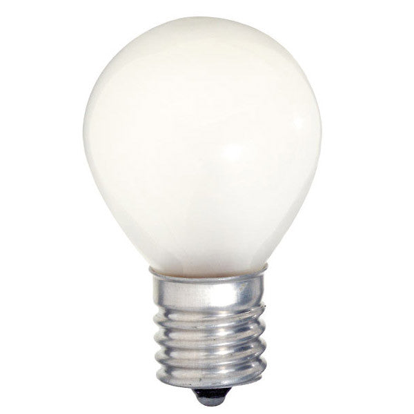 Satco S3622 10W 125V S11 Frosted E17 Intermediate Base Incandescent light bulb