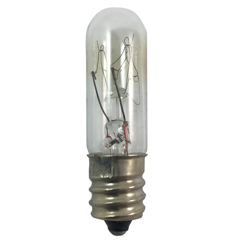 Satco S3913 15W 130V T4.5 Clear E12 Candelabra Base Incandescent light bulb