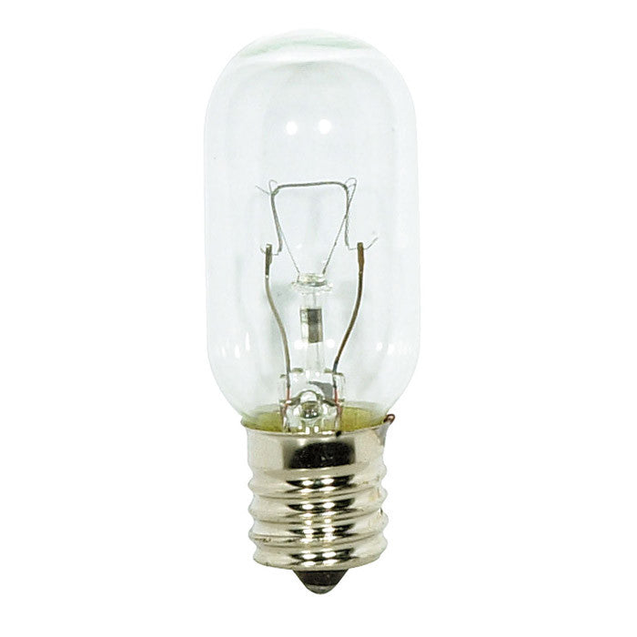 Satco S3917 40W 130V T8 Microwave Clear E17 Intermediate Base Incandescent bulb