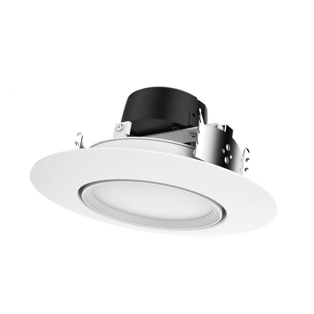 Satco 9w 5-6-in 3000K 120v Dimmable White Finish LED Retrofit Downlight