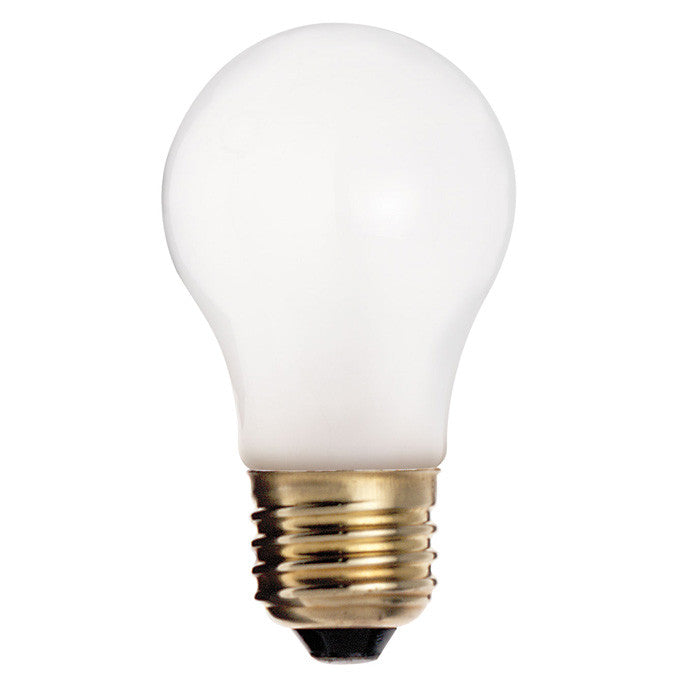 2Pk. - Satco S3949 15W 130V A15 Frosted E26 Base Incandescent bulb