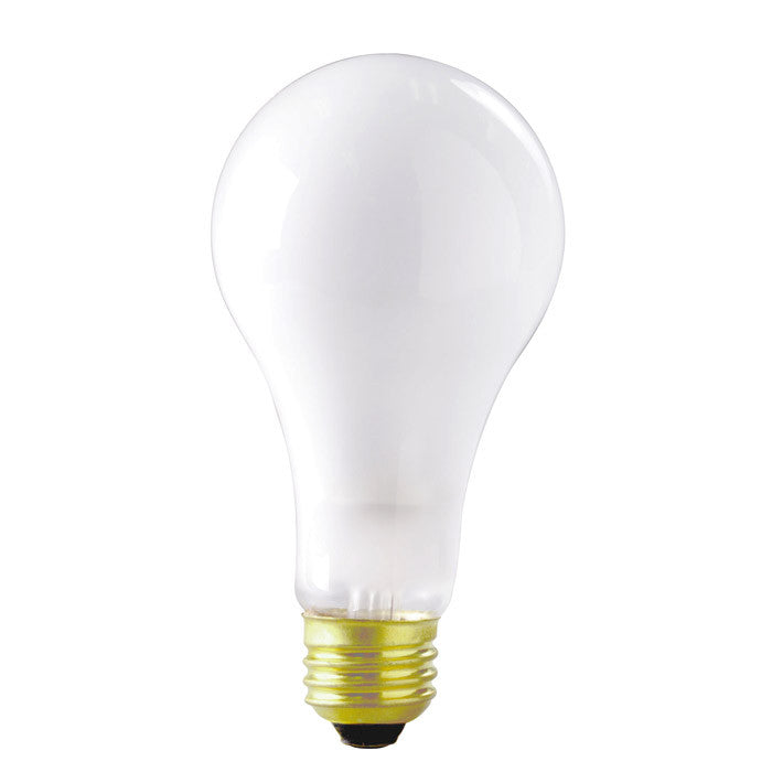 Satco S3945 150W 120V A21 Frosted E26 Base Incandescent light bulb