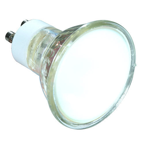 Satco S4127 20W 120V MR16 GU10 Flood halogen light bulb