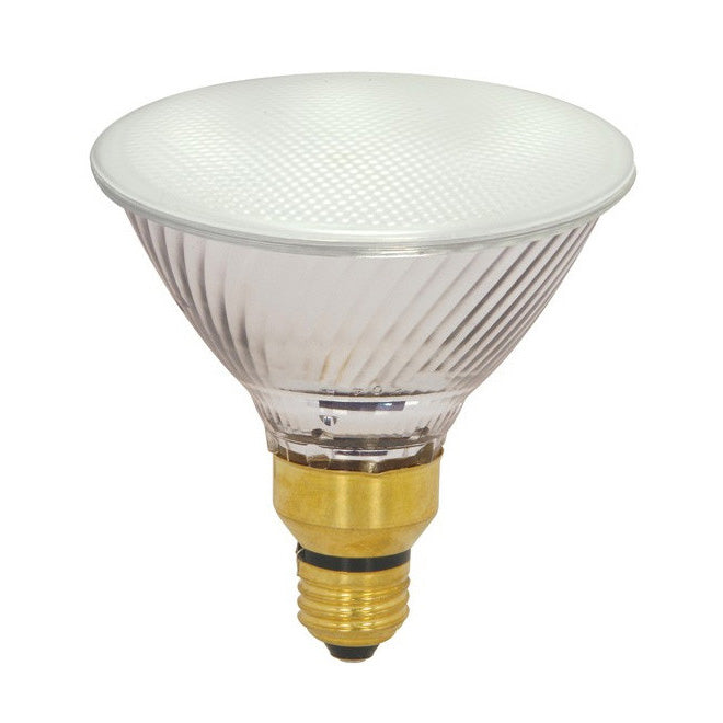 Satco S4133 39w PAR38 Frosted Soft Ray Xenon Halogen Flood Light Bulb