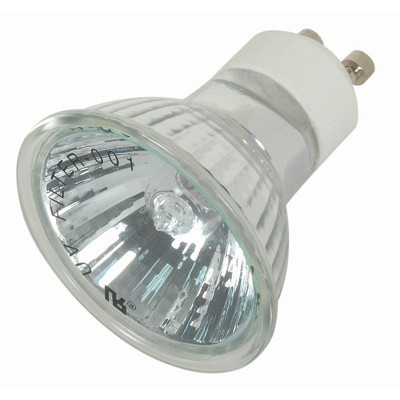 35w Mr16 E26 Base 120v: Satco S4192 FMW 35W 120V MR16 GU10 Flood Halogen Light