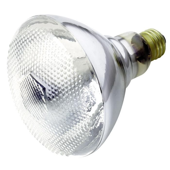 Satco S4422 75W 120V BR38 Clear E26 Base Incandescent light bulb