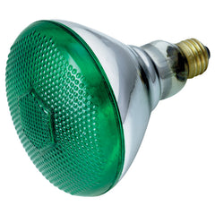 Satco S4427 100W 120V BR38 Green E26 Base Incandescent light bulb