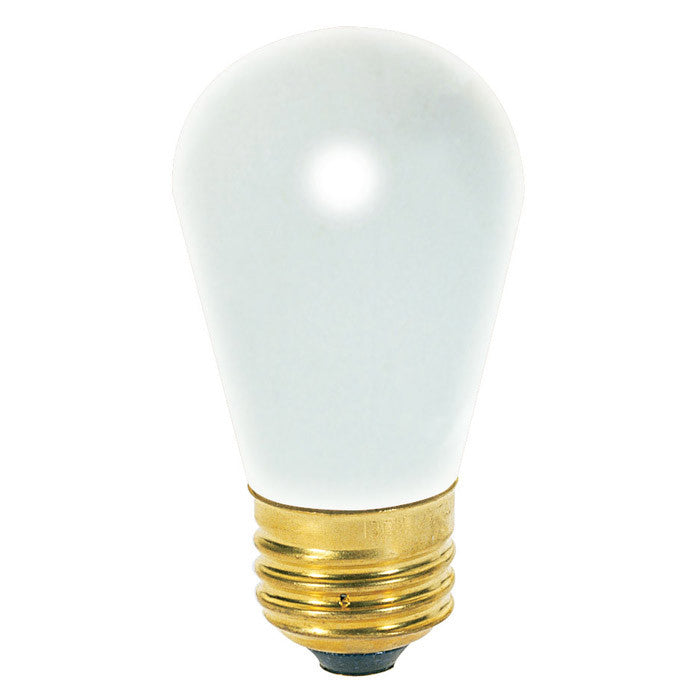 Satco S4566 11W 130V S14 Frosted E26 Base Incandescent bulb