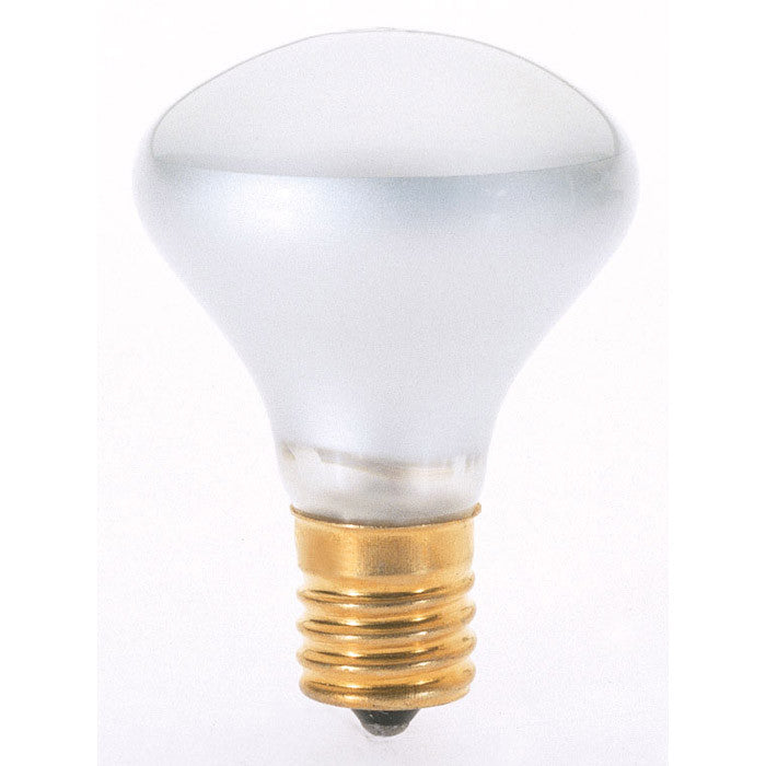 Satco S4700 25W 120V R14 Clear E17 Intermediate Base Incandescent light bulb