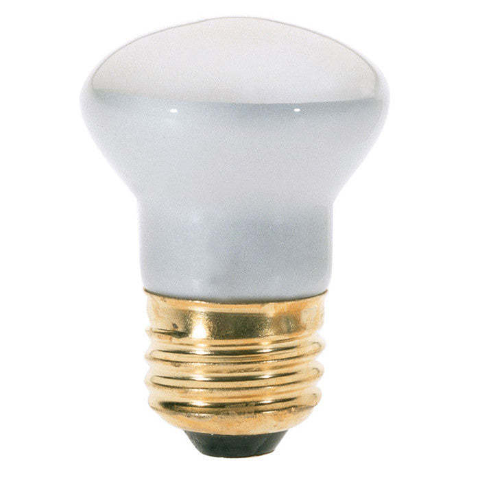 Satco S4704 25W 120V R14 Clear E26 Medium Base Incandescent light bulb
