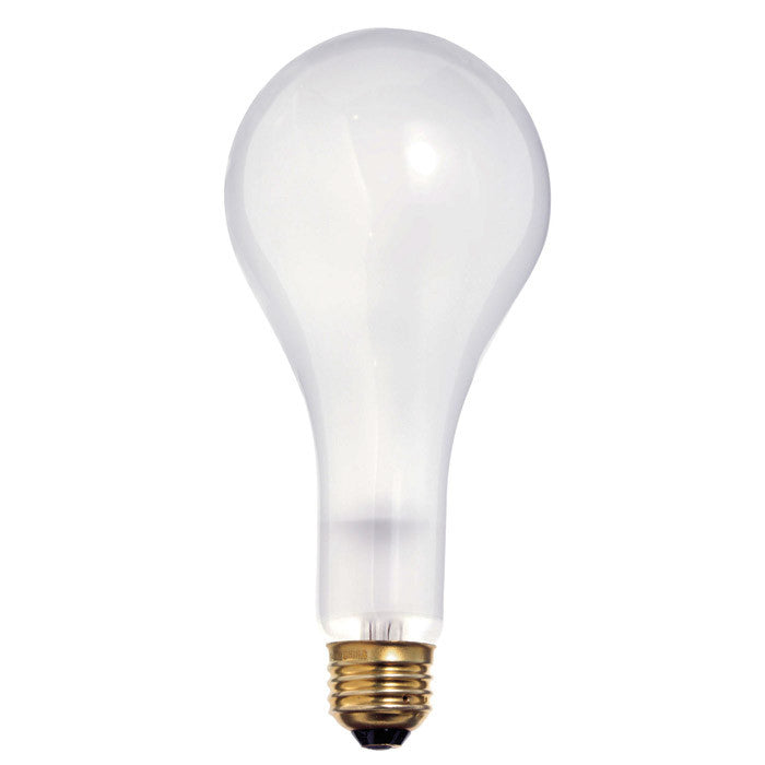 Satco S4960 300W 130V PS25 Frosted E26 Medium Base Incandescent light bulb