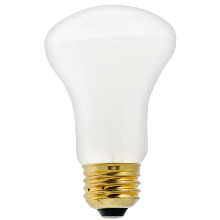 Satco S4977 60W 120V K19 White E26 Medium Base Incandescent light bulb