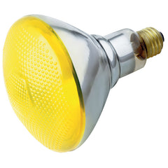 Satco S5004 100W 230V BR38 Yellow E26 Base Incandescent light bulb